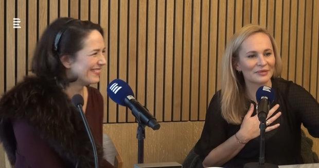 Monika Absolonová v pořadu Blízká setkání s Terezou Kostkovou