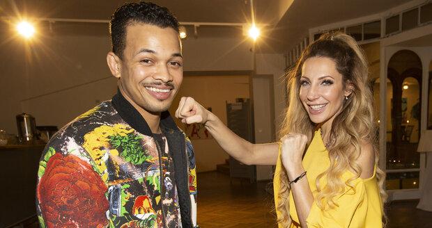Rapper Ben Cristovao a zpěvačka Olga Lounová patří mezi favority soutěže.