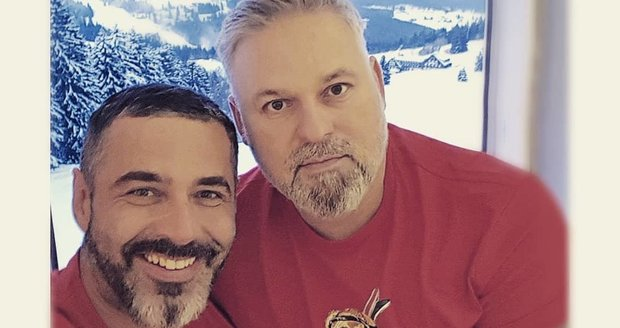 Libor Šula s partnerem Peterem