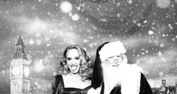 Pohublá zpěvačka Adele na Vánoce