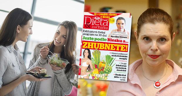 Už v pondělí najdete v Blesku pokračování dietního režimu s Karolínou Hlavatou.