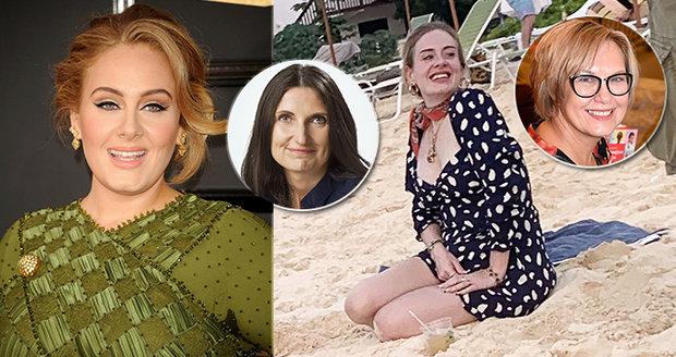 Expertky zhodnotily dietu zpěvačky Adele.