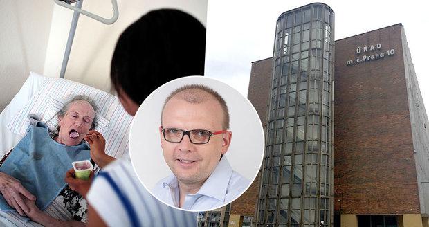Praze 10 chybí 48 milionů na sociální služby, zapomněla zažádat o dotace. Opozice viní radního Michala Kočího (Piráti).
