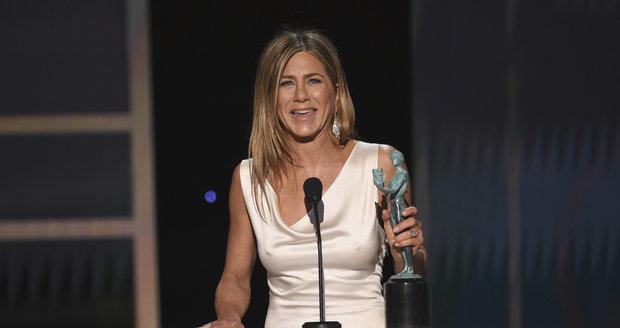 Jennifer Aniston na předávání cen