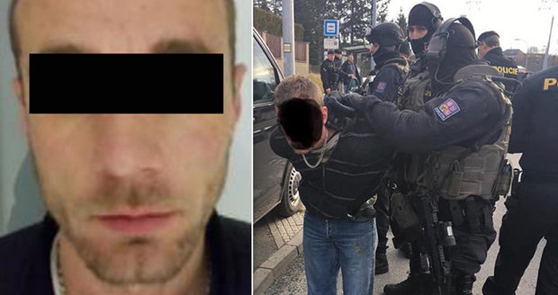 Policisté v Plzni zadrželi nebezpečného Slováka Jána M. (31).