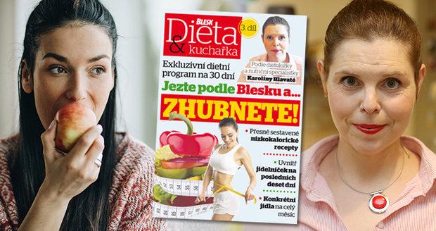 V deníku Blesk najdete třetí díl speciálu Jezte podle Blesku a zhubnete....