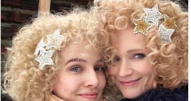 Tereza Ramba a Aňa Geislerová v pohádce O vánoční hvězdě