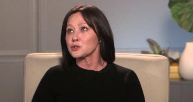 Shannen Doherty přiznala, že je ve čtvrtém stádiu rakoviny.