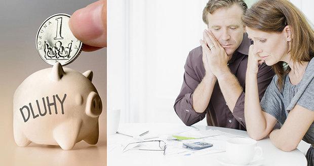 Jak vyklouznout z dluhů nezodpovědného partnera?