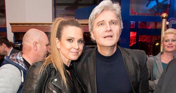 Erika s přítelem Štefanem Skrúcaným
