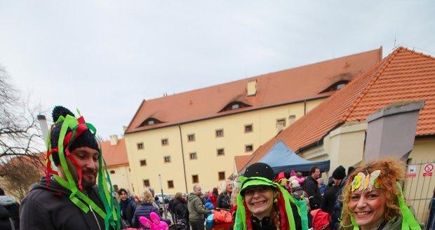 Oslava masopustu v Zámeckém areálu Ctěnice je již tradičně spojená s oslavou cechu řeznického.