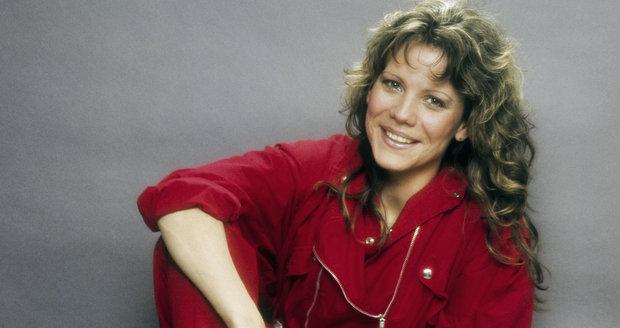 Lenka Filipová v roce 1982, věk 28