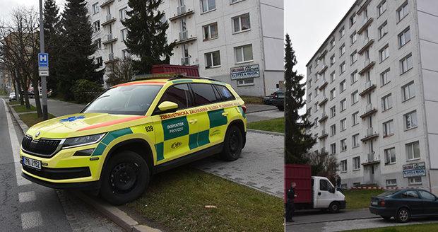 V Plzni vypadly matka s dcerou z okna v 5. patře.