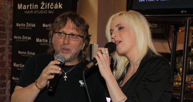 Dalibor Janda s dcerou Jiřinou Annou