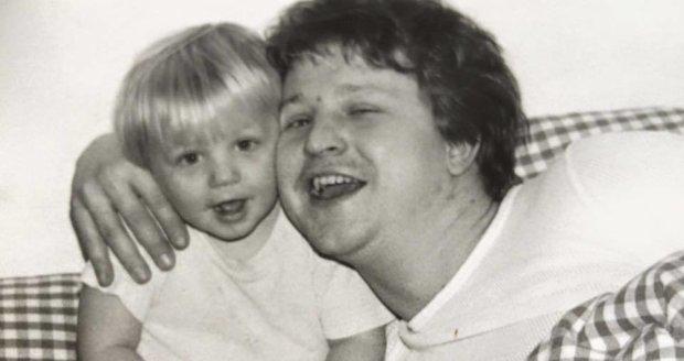 Tomáš Klus s tátou