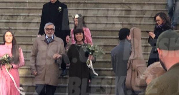 Utajená svatba Bolka Polívky v Brně