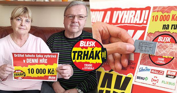 Pravidelná čtenářka Blesku Hana Špačková (66) se trefila do černého!