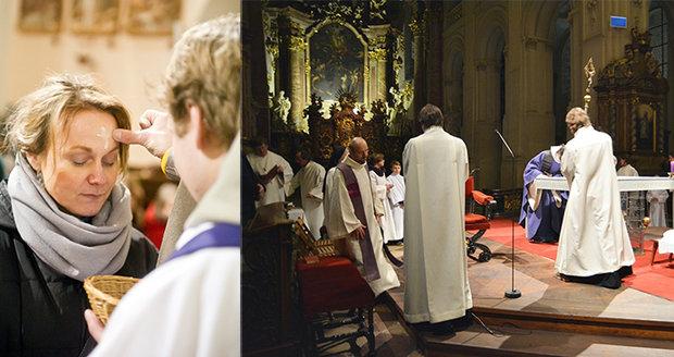 Popeleční středou začal křesťanům čtyřicetidenní půst.