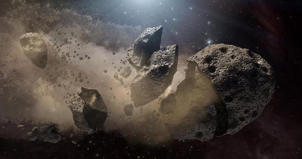 K Zemi se blíží možná nebezpečný asteroid, varuje NASA. Průměr má přes půl kilometru