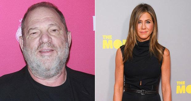 Harvey Weinstei Chtel Zavrazdit Jennifer Aniston Blesk Cz