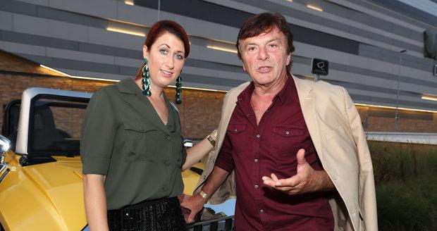 Pavel Trávníček s manželkou