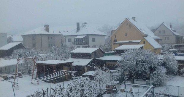 Na Šumavě nasněžilo oficiálnímu příchodu jara navzdory (21.3.2020)