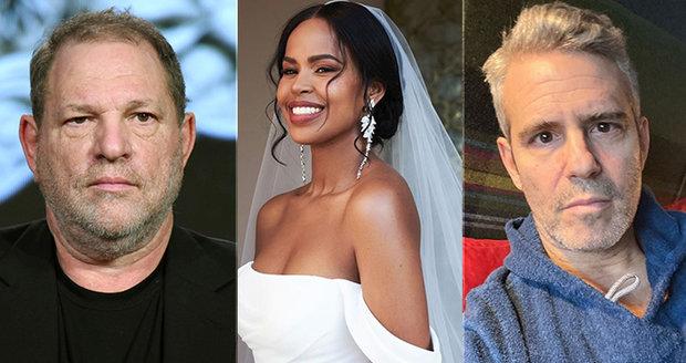 Harvey Weinstein, Sabrina Dhowre a Andy Cohen mezi dalšími nakaženými koronavirem