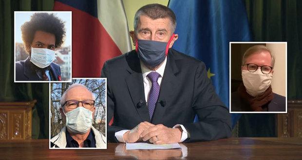 Babiš za projev o koronaviru sklidil chválu od opozice. Premiér prosil i o odpuštění