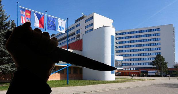 Pacient při čekání na výsledky napadl ve Znojmě nožem sestřičku!