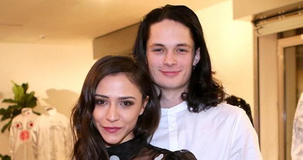 Eva Burešová a její partner, tanečník Matyáš Adamec