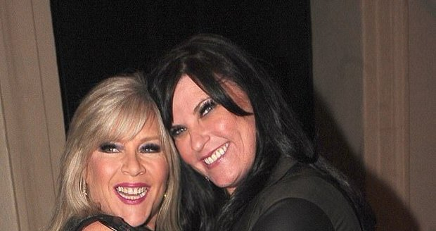 Samantha Fox s partnerkou Lindou