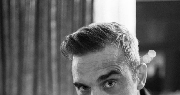 Zpěvák Robbie Williams