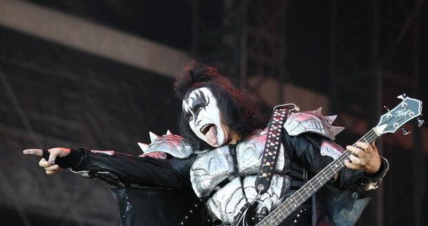 Kapela Kiss na svém loňském vystoupení v Praze