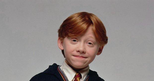 Rupert Grint jako Ron Weasley