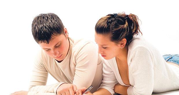 Nad testem se můžete zamyslet společně s partnerem