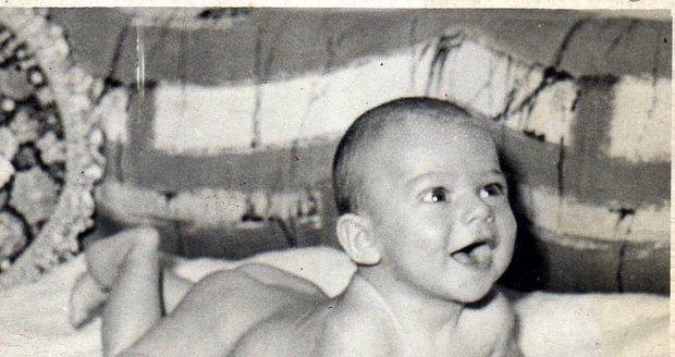 Paľo Habera jako miminko