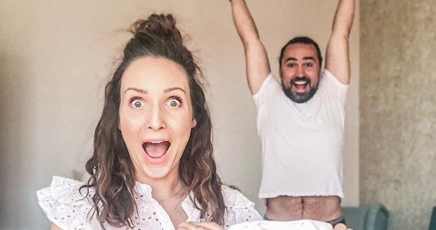 Veronika Arichteva a Biser Arichtev se těší na miminko!