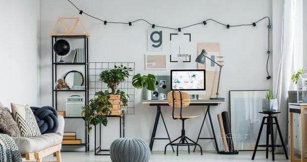 Oddělte práci od svého soukromého života a vytvořte si doma designové pracovní zákoutí!