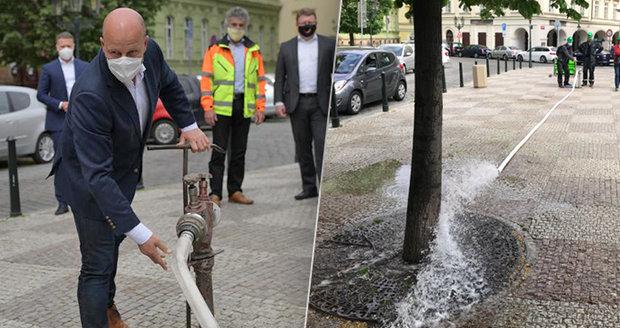 Praha bude zalévat podzemní vodou