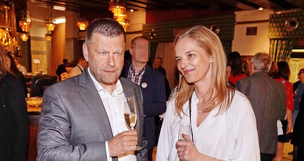 Světlana Witowská a její manžel Petr