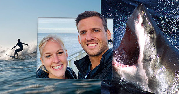 Známého surfaře zakousl žralok u pláže, která je uzavřena kvůli pandemii koronaviru