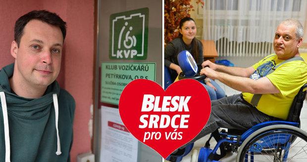 Blesk představuje organizaci Klub vozíčkářů Petýrkova