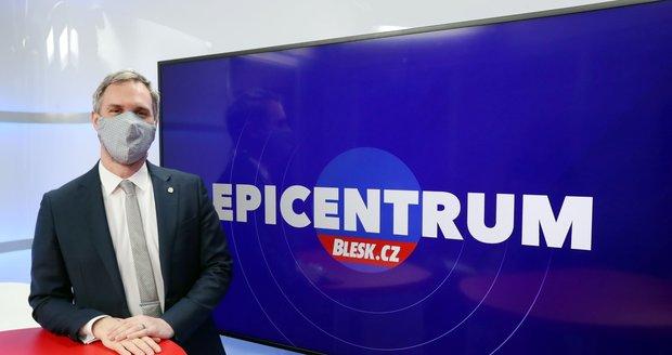Primátor hlavního města Prahy Zdeněk Hřib (Piráti) hostem pořadu Epicentrum 12.5.2020.