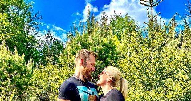 Vendula s manželem