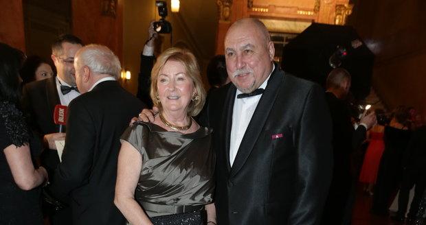Andrej Hryc s manželkou