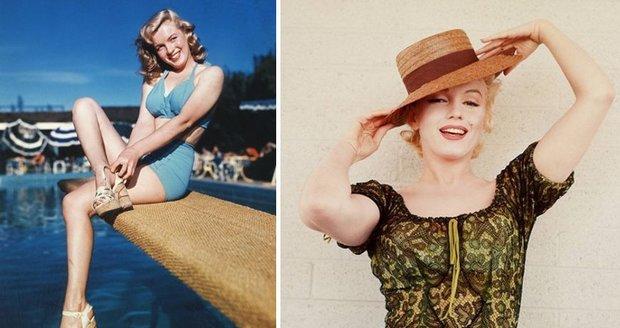 Ikonická Marilyn Monroe.