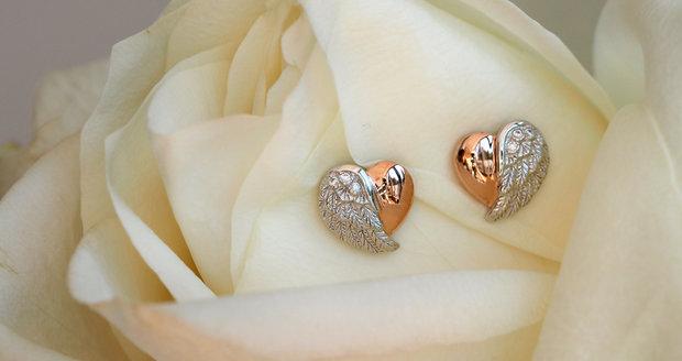 Šperky ve tvaru srdce