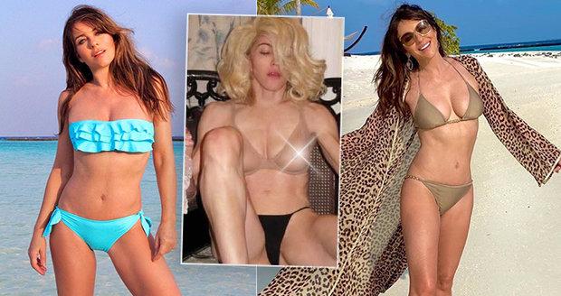 """Tyhle """"babičky"""" se toho nebojí! Madonna, Stoneová a další vzkazují: Šedesátka nám vrásky nedělá."""