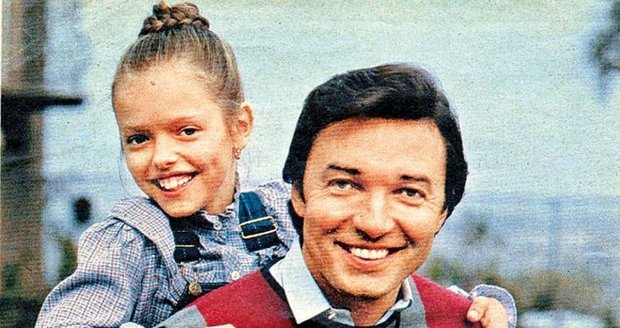 Dominika s tátou