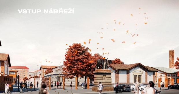 Areál Pražské tržnice se bude rekonstruovat, takto by měl v budoucnu vypadat